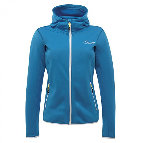 Dare2b Womens/Ladies Courtesy Core Stretch Full Zip Midlayer Hoodie Azul - Azul (Methyl Blue)