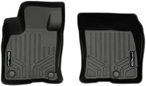 SMARTLINER All Weather Custom Fit Floor Mats 1st Row Liner Set Black for 2020-2021 Ford Escape
