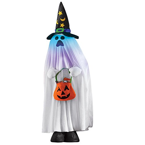 Lighted Halloween Character Decorations Ghost