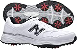 New Balance Men's nbg1701 Golf Shoe, White/Black, 10 D US