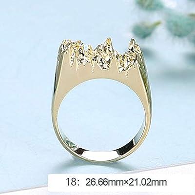 Hukai Epoxy Resin Ring Mold Broken Art Resin Metal Ring Diy