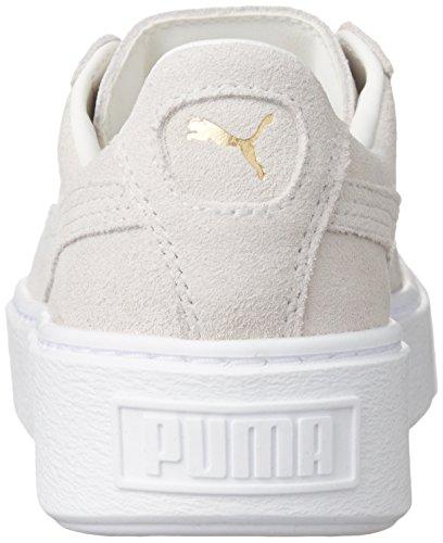 Puma - Puma Suede Platform Gold, 001 white - gold, 40