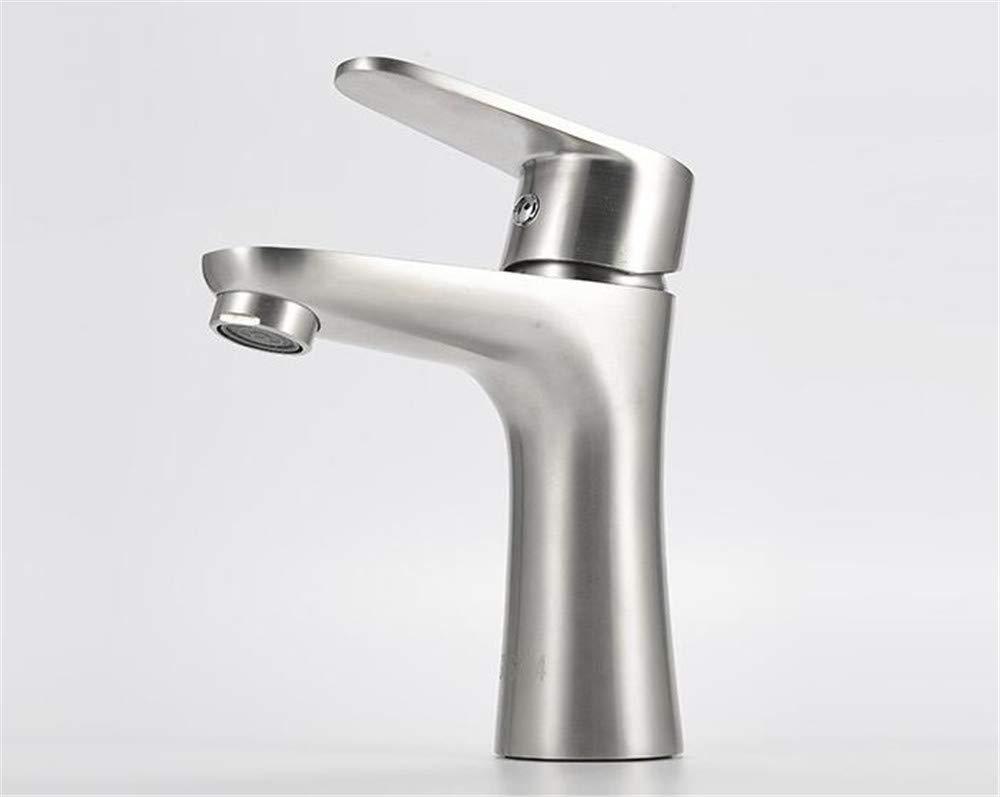Decorry Mischer 304 Edelstahl Kalte Becken Küchenarmatur Einlochmontage Heiß Und Kalt