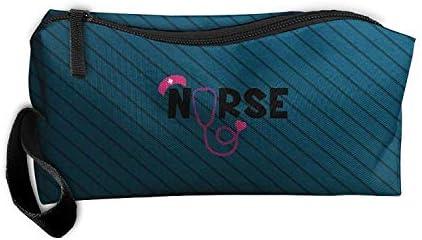 CCGGJPYI Estetoscopio de Enfermera SVG Bolsa de Aseo de Viaje Kit de Afeitado Organizadores: Amazon.es: Hogar