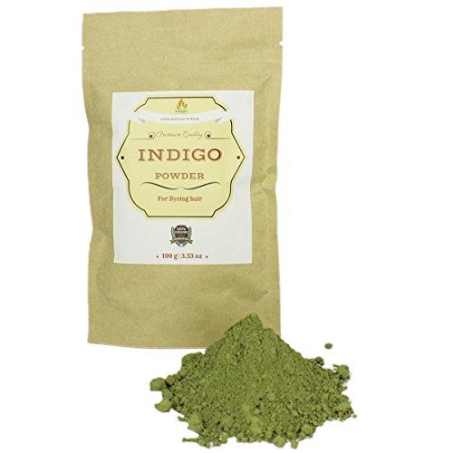Pure & Natural Indigo Powder for Hair  I Ecologically Produc
