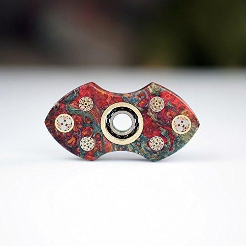 Sunnytech 1zappeln Spinner Spielzeug EDC Exquisite Hand Spinner DIY Puzzels für ADHD Angst Langeweile hs59