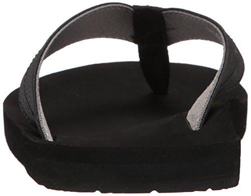 Charcoal Men's Sanuk Flip Black Burm Flop U0apRcqa