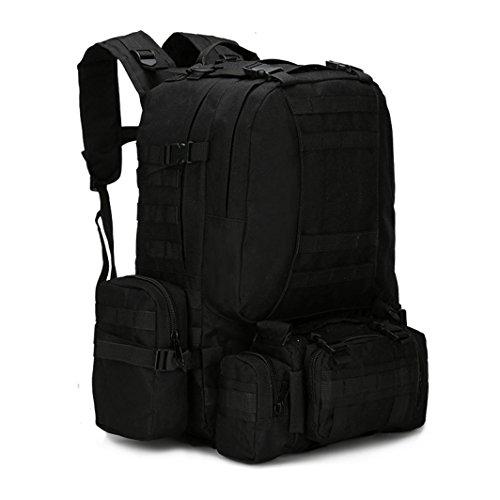 Fulltime (TM)–�?5.5l al aire libre Camping viaje senderismo escalada bolsa multifunción táctica mochila mochila–Mochila de hidratación (K)