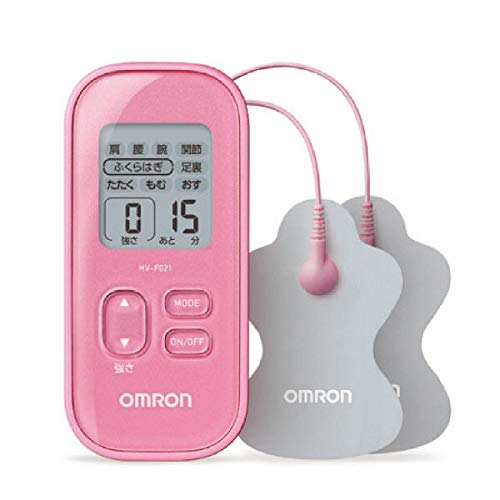 Omron Low-frequency Therapy Equipment Pink HV-F021-PK