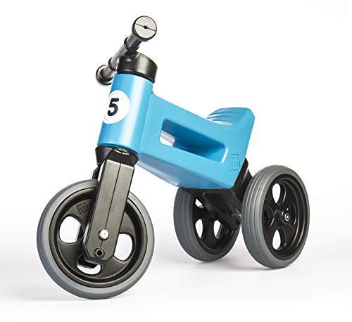 (PlayMonster, Free Wheelin' Rider Convertible Balance Bike, Sky Blue )