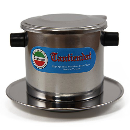 Vietnamese Coffee Filter 8oz - Stainless Steel Drip (Blend Coffee 12 Oz Drip)