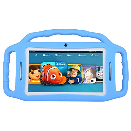 Tablets for Kids,Andriod 7.1 Edition Tablet with 1GB RAM 8GB ROM and WiFi,Kids Software iWawa Pre-Installed. (Light Blue)