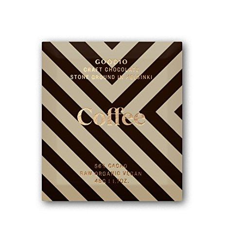 Goodio Raw & Organic Chocolate, Coffee, 1.7 Ounce, - Candy Free Dairy