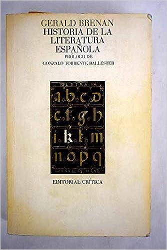 Historia de la literatura española: Amazon.es: Brennan, Gerald T.: Libros