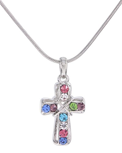 Rhinestone Chain Cross - Cool Jewels 18