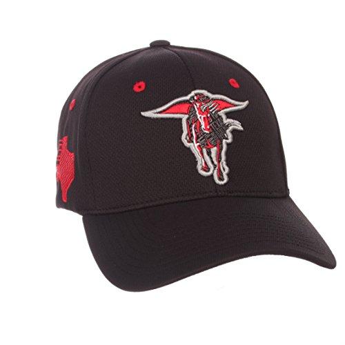 (ZHATS NCAA Texas Tech Red Raiders Men's Rambler Hat, Medium/Large, Team Color)