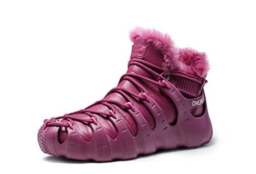 Multi Burgundy High Sports Boots Fur Wear Purpose Sneaker Ankle Lined YxSYg