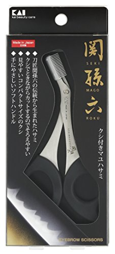 Kai Seki Magoroku Mayuhasami with comb (Seki Comb)
