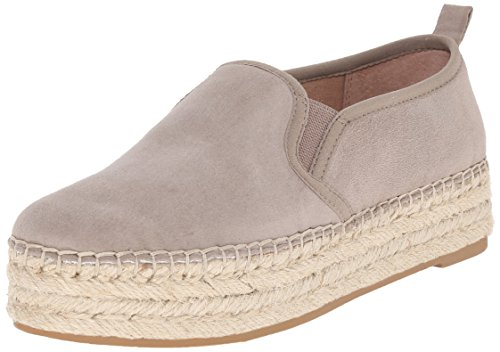 Sam Edelman Women's Carrin Platform Espadrille Slip-On Sneaker, Putty, 7.5 M US (Edelman Suede Wedges)