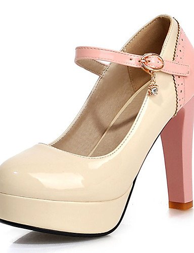 5 Plataforma 5 5 pink Zapatos Noche eu42 mujer Punta Stiletto cn43 uk uk8 Fiesta Vestido Tacones pink y Tacones Tacón Rosa eu42 Negro us10 de us10 white uk3 cn34 us5 eu35 Azul Redonda Semicuero GGX RwgqYpY
