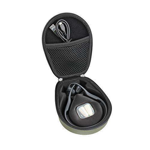 Hermitshell Travel Case Fits AfterShokz Trekz Air Open Ear Wireless Bone Conduction Headphones AS650 (Green)