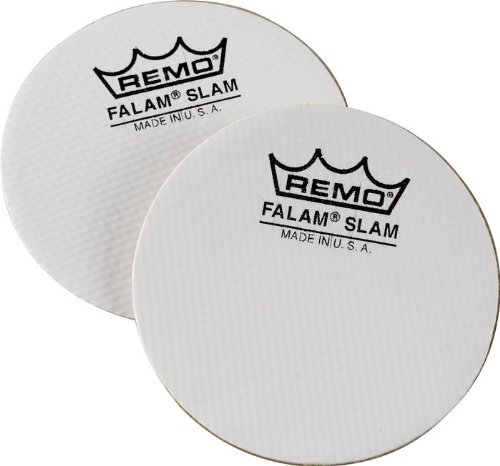 Drum Kick Snare - Remo KS-0004-PH 4-Inch Falam Slam Kick Drum Slam, 2-Pack