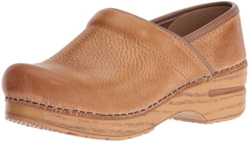 Dansko Women's Professional Mule, Honey Distressed, 39 M EU / 8.5-9 B(M) US - Distressed Natural