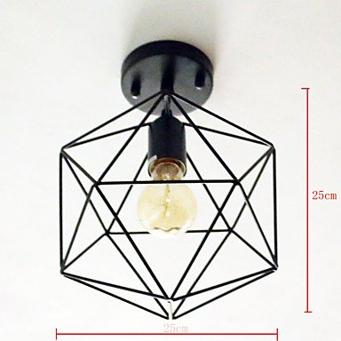 BAJIAN-LI Modern luxury Pendant Light, Modern/Contemporary Traditional/Classic Rustic/Lodge Vintage Country Painting Feature for Mini Style MetalStudy 110-120v by BAJIAN-LI (Image #1)