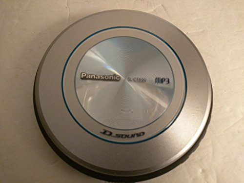 Panasonic SL-CT520 Portable CD / MP3 Player with D.Sound Technology by Panasonic