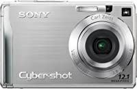 Sony Cybershot DSCW200 12.1MP Digital Camera with 3x Optical Zoom and Super Steady Shot