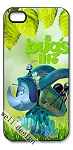 A Bug's Life Cartoon movie HD image case cover for iphone 5 5S black A Nice Present