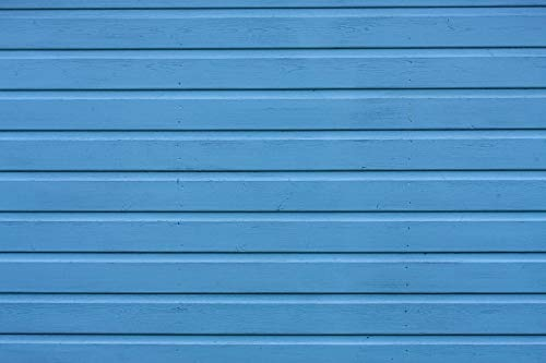 Home Comforts Canvas Print Background Wood Slats Texture Blue Wooden Painted Vivid Imagery Stretched Canvas 32 x 24