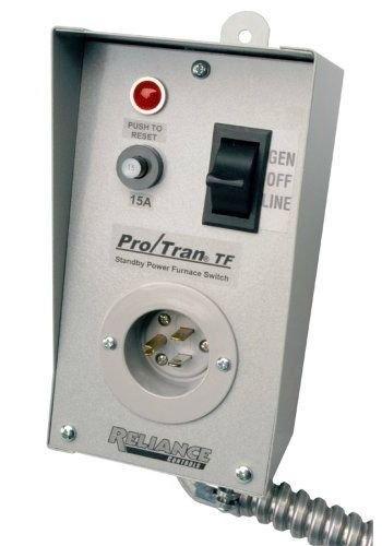 Reliance Control TF151W Generator-to-Furnace Transfer Switch by Safe Price