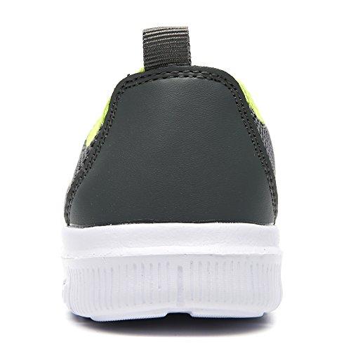 COMA WELMEE Breathable Bequeme Turnschuhe der Männer Leichte Wasser-Schuhe beiläufige Beleg-Auf Müßiggänger-Tennis-gehende laufende Schuhe Dunkelgrau