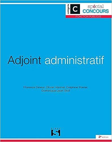 Téléchargement Adjoint administratif - Catégorie C pdf