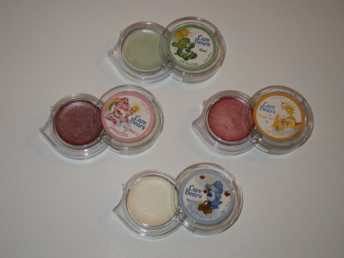 - Care Bears Lip Tangerine Kiwi Raspberry Vanilla Balm Gloss 4 Pack