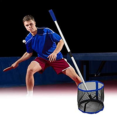 Table Tennis Ball Picker Upper,Upgraded Ping Pong Ball Picker Upper with Removable Handle,up to 125 Balls,Time Saving Net Ball Picker Collector Retriever Gift: Arts, Crafts & Sewing