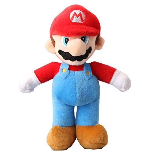 (uiuoutoy Super Mario Bros. Standing Mario Plush Toy 10'')