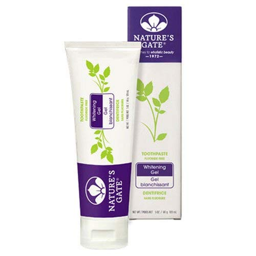 Nature's Gate Natural Whitening Toothpaste 5 oz (2 pack) (Whitening Toothpaste Gate Nature)