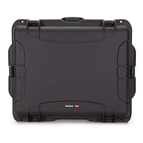 Nanuk 960 Waterproof Hard Case with Wheels Empty - Black