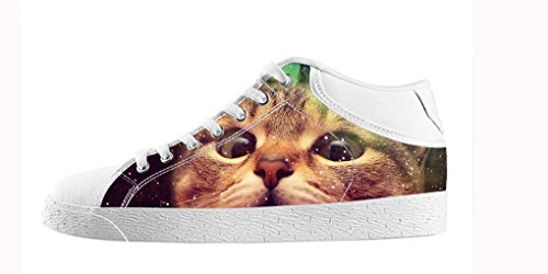 Dalliy Galaxie Katze Galaxy Cat Mens Canvas shoes Schuhe Footwear Sneakers shoes Schuhe C