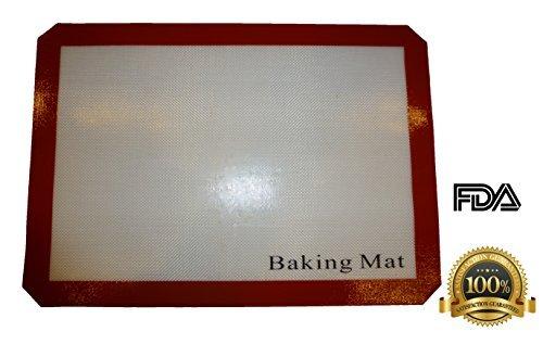 UPC 609015964156, Non-stick Silicone Baking Mat / Cooking Utensil, 16.5 X 11.6