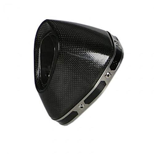 (Akrapovic Replacement Muffler End Cap Carbon Fiber for Ducati 848 1098/R/S)