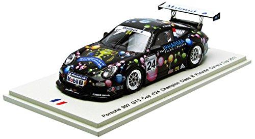 1/43 Porsche 997 GT3 Cup Champion Class B Porsche Carrera Cup 2011 H.Hassid #24(ブラック) SF070