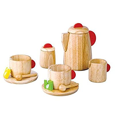 Plan Toy Tea Set(Solid Wood Version)