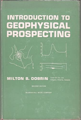 Introduction To Geophysical Prospecting Dobrin Pdf