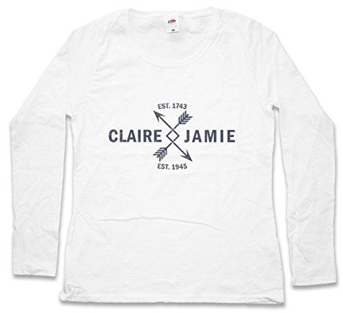 amp; T Woman De Larga– – Xs Jamie Mujer shirt Claire Manga 2xl Tamaños O1FHgF