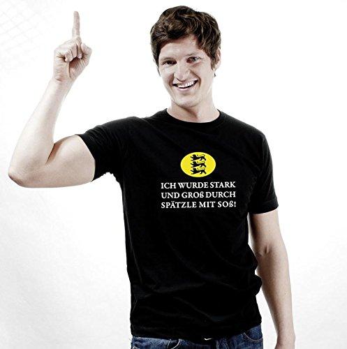 Spätzle mit Soß Lokalpatriot, Schwaben T-Shirt