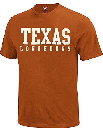 289c apparel Texas Longhorns Men Tx Orange Campus Classic Short Sleeve T Shirt (Medium) ()