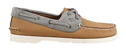Sperry Men's, Leeward Boat Shoe Linen 9 W